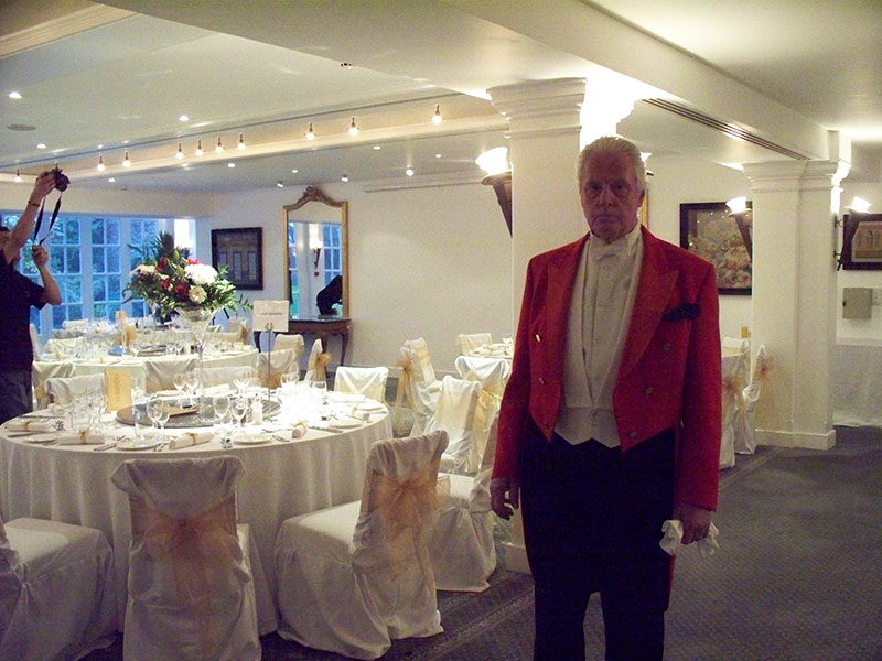 Wedding Toastmaster Overseeing Table Plan