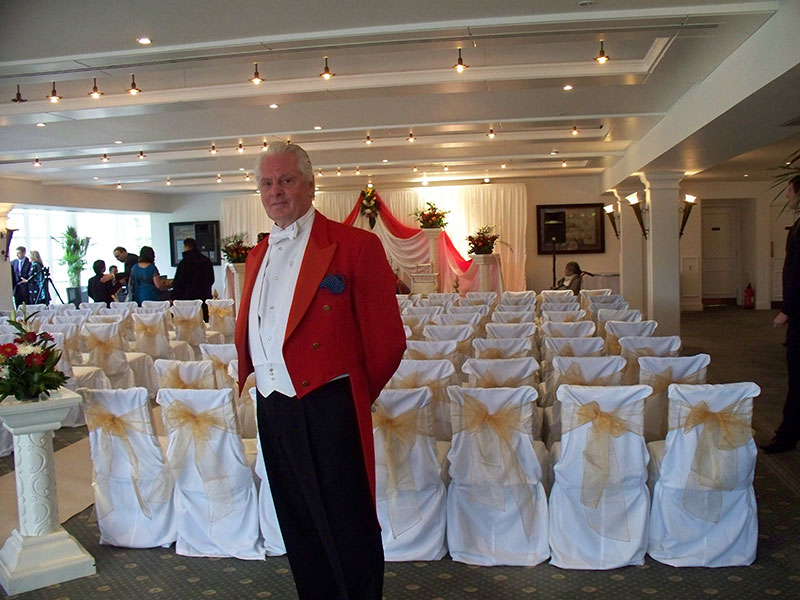 Toastmaster at Hindu Wedding