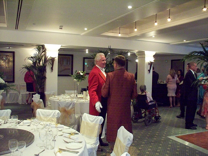 Toastmaster and Best Man at Indian Wedding